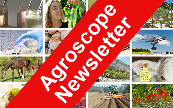 Agroscope Newsletter Promotion