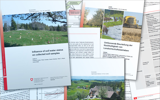 Publication Series Agroscope Science