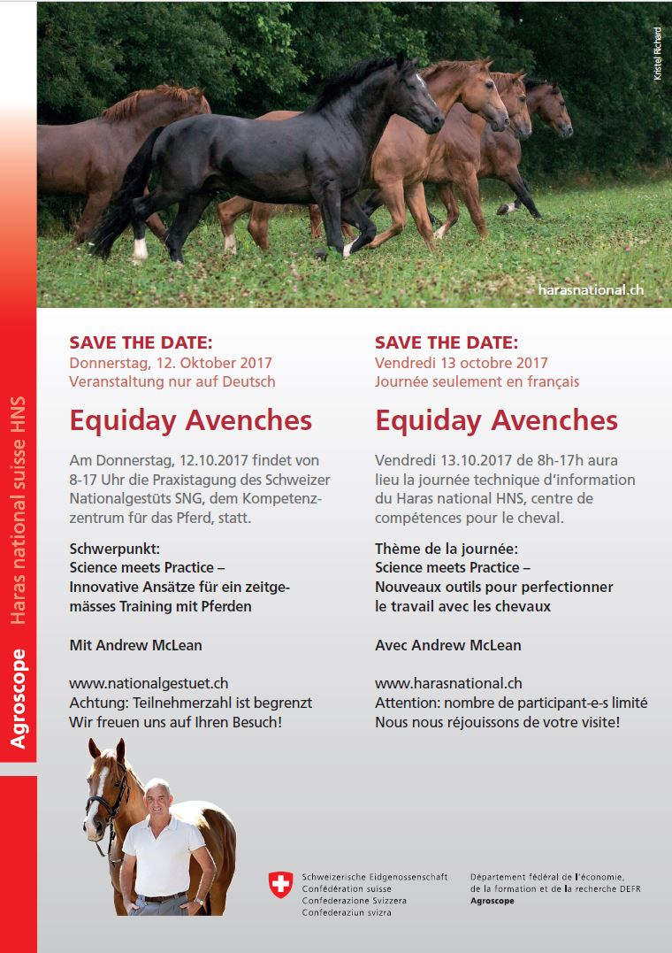 Save the date Equiday 2017